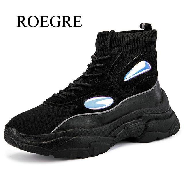2019 חדש גברים נעליים יומיומיות סתיו חיצוני מותג גברים של נעליים נוח גבוהה Quatily נמוך אופנה נעלי ספורט לגברים גודל 35 -45