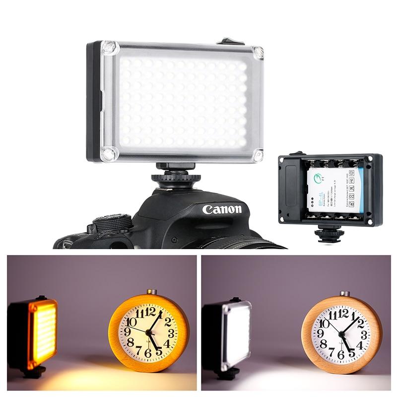 Ulanzi On Camera LED Video Light Photo Studio Vlog Continues Lighting For Zhiyun Smooth 4 DJI Osmo Pocket Canon DSLR Cameras