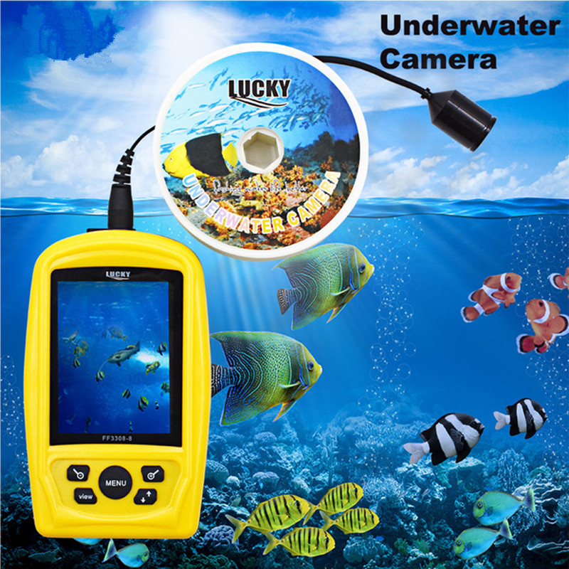 FF3308-8 Portable Underwater Fishing & Inspection Camera System CMD Sensor 3.5 inch TFT RGB Monitor FishSea 20M CableFF3308-8 Portable Underwater Fishing & Inspection Camera System CMD Sensor 3.5 inch TFT RGB Monitor FishSea 20M Cable