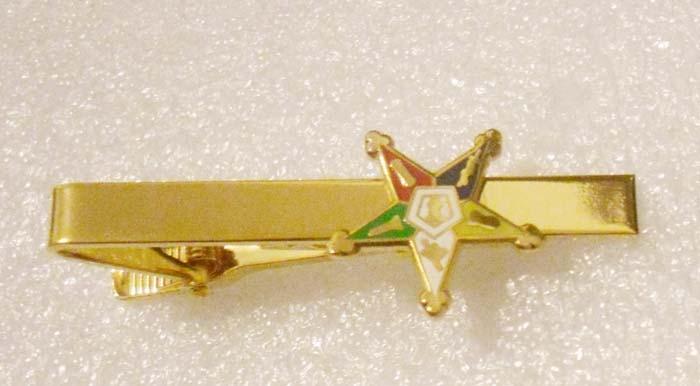 Order of the Eastern Star Masonic Freemasonry Tie-Slide