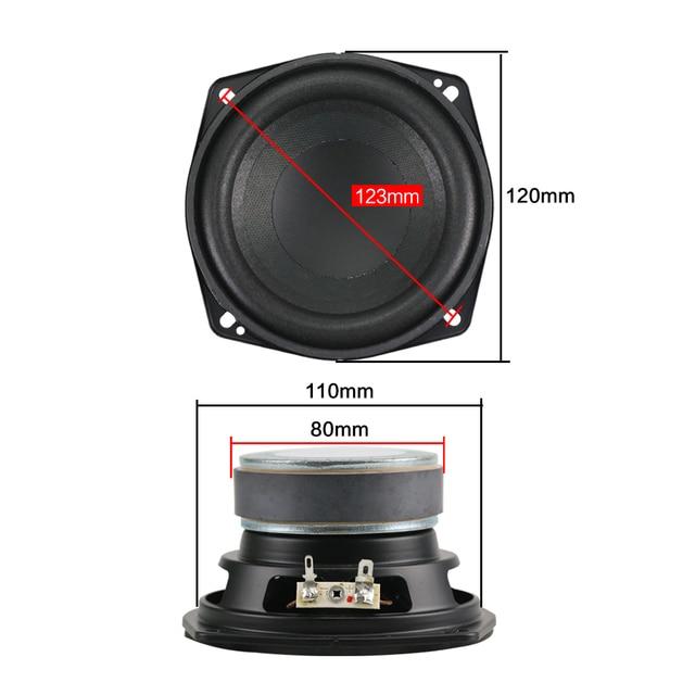 Mega Bass Subwoofer Speaker 4.5 inch 50W 2