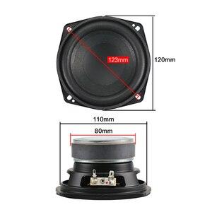 Image 2 - Mega Bass Subwoofer Speaker 4.5 inch 50W Woofer Low Frequency Large Magnet Home made High Power Speaker 0.83KG 1PCS