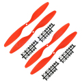 4pcs/lot 10x4.5R 1045R Counter Rotating Propeller Prop Motor Shaft RC Mode airplane(2 pair)