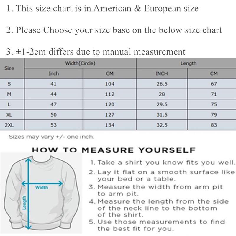 sweatshirt size