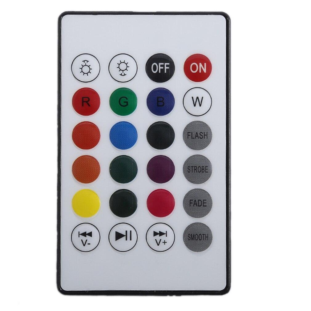 ICOCO Control remoto inalámbrico Bluetooth Mini Smart Audio Altavoz - Iluminación LED - foto 6