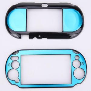 Image 2 - 소니 플레이 스테이션 PS Vita 2000 PSV PCH 20 dropshipping에 대 한 5 색 알루미늄 스킨 케이스 커버 셸