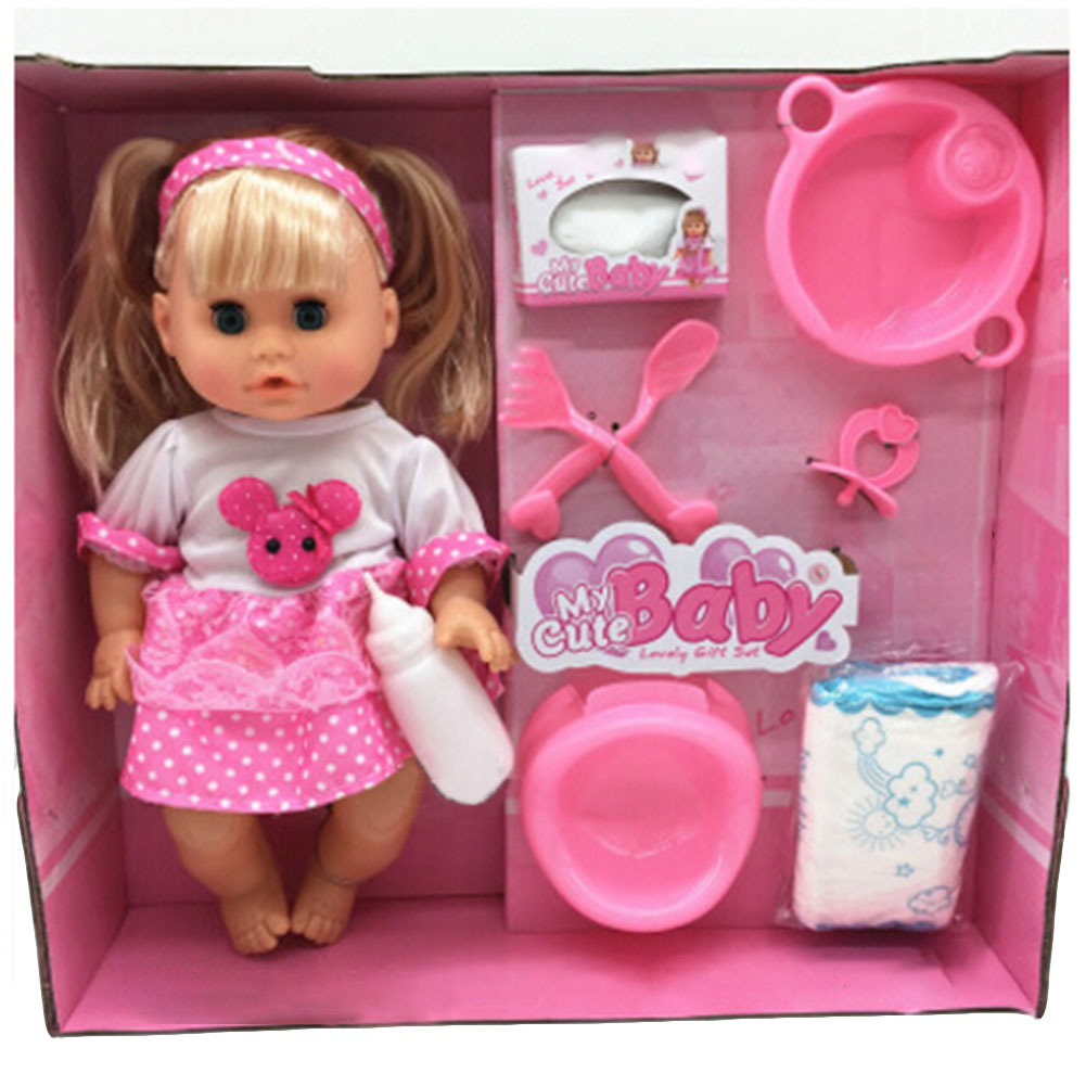 Genuine doll Dream wardrobe dolls suit gift font b box b font girls toy kawaii Simulation