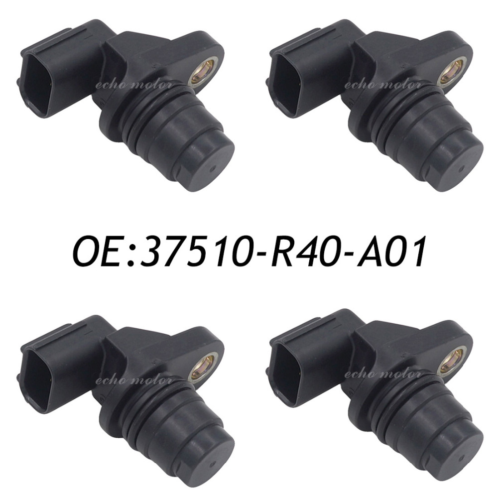 New 4pcs 37510-R40-A01 Camshaft Position Sensor For Honda Civic 2012-2013 37510 R40 A01 37510R40A01 comp cams 12 253 4 camshaft