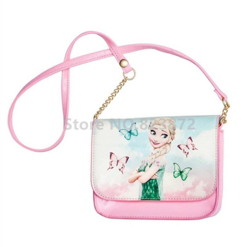 ae8308356e Detail Feedback Questions about Snow Queen Elsa Shoulder Messenger Bag Mini  Small Crossbody Bags for Girls Cute Fashion Pink Princess Printing Coin  Purse ...