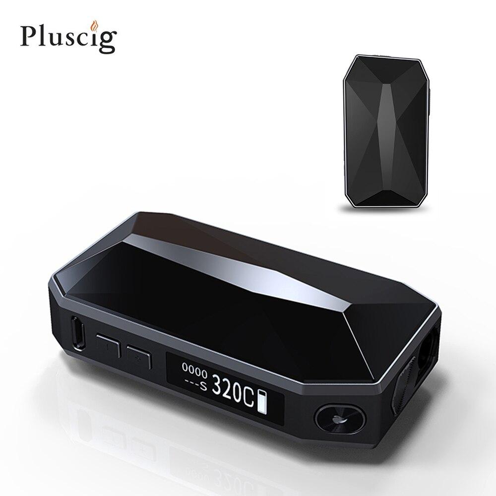 Smy Pluscig K2 cigarette électronique smok chauffage vaporisateur d'herbes sèches 2900 mAh tête pas brûler HNB kit pour cartouche avec iqos bâton