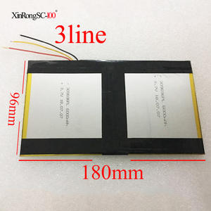 Battery Tablet 12000MAH Teclast X98 for Air-3g P98 PC 309696--2/X98x98/Air-p98x98/..