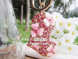 2010 fashion Pink flowers peach heart Chinese sport Chain free shipping  Wholesale 20pc/lot no 5