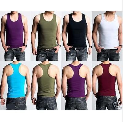 557eb3f8cad04 New Mens Racerback Vest Slim Fit Sport gym Regata Sleeveless Muscle Juniors Tank  Top Shirt bodybuilding clothing singlet suit