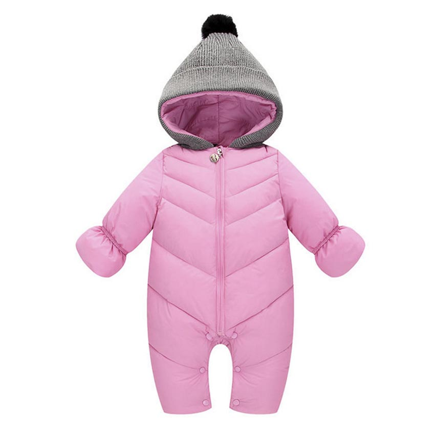 bb3b2104c521 Buy UVKKC Baby rompers winter upset polyester baby girl boy Snowsuit ...