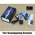 Para Ssangyong Actyon 2010 ~ 2015 / chuva Anti colisão luzes de Laser / o tempo Auto acessórios acidente de carro cauda luz de aviso