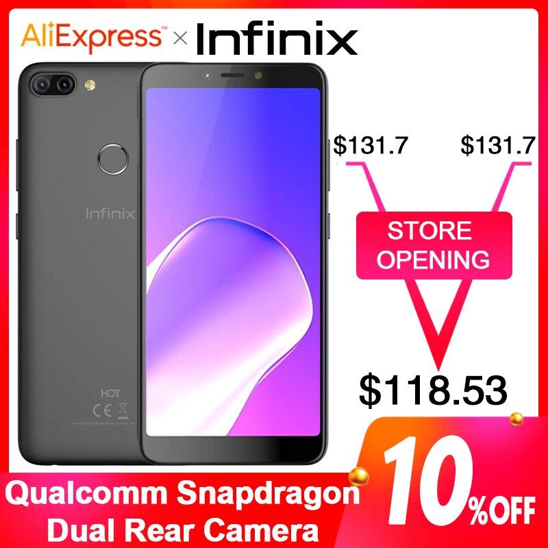 Mondial Version Infinix CHAUDE 6PRO SmartPhone Double caméra arrière 6.0