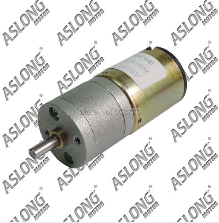 Pure Mental Gear Motor Diy 24v 18 2045 Rpm High Speed High