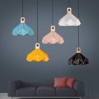 Moderne Nordic AMBIT Anhänger Lichter Dänemark Farbige Macaron Aluminium LED anhänger lampe Küche Restaurant Licht Decke Leuchten-in Pendelleuchten aus Licht & Beleuchtung bei