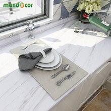 Adesivos de parede de mármore pvc, 5m, papel de parede autoadesivo, banheiro, à prova d água, renovação, cozinha, bancada, papel de contato