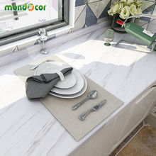 Pegatinas de pared de mármol de 5M, papel tapiz autoadhesivo de PVC, impermeable para baño, renovación de muebles, encimeras de cocina, papel de Contacto