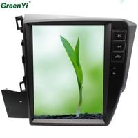 2 ГБ Оперативная память Вертикальная 10,4 Экран Android 6,0 автомобиль gps DVD Fit Honda CIVIC 2012 2013 2014 2015 Navi головное устройство мультимедийный DVD