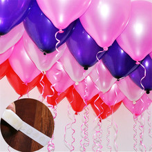 100pcs/lot Creative Balloons Glue Point Stickers Balloon Fix Gum Accessories Wedding Party Birthday Decoration Supplies