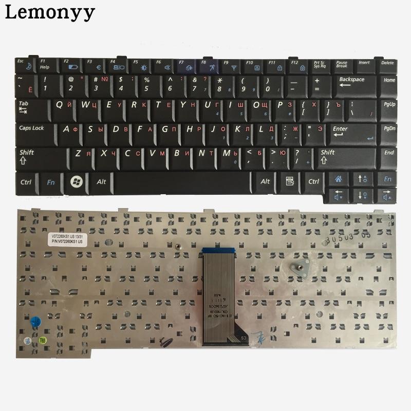New RU Laptop Keyboard For Samsung Q308 Q310 Russian Keyboard Black