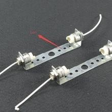 2 комплекта r7s патрон лампы для сценический светильник и т. Д. 78 мм