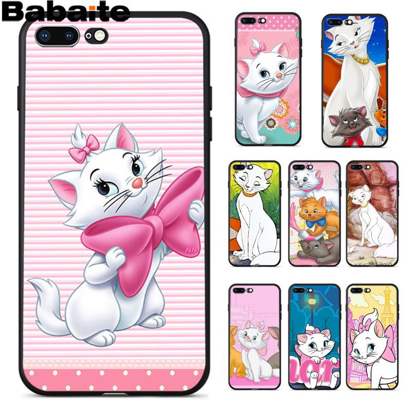 Strict Babaite The Cartoon Aristocats Lovely Novelty Fundas Phone Case Cover For Apple Iphone 8 7 6 6s Plus X Xs Max 5 5s Se Xr Cover Possessing Chinese Flavors Half-wrapped Case