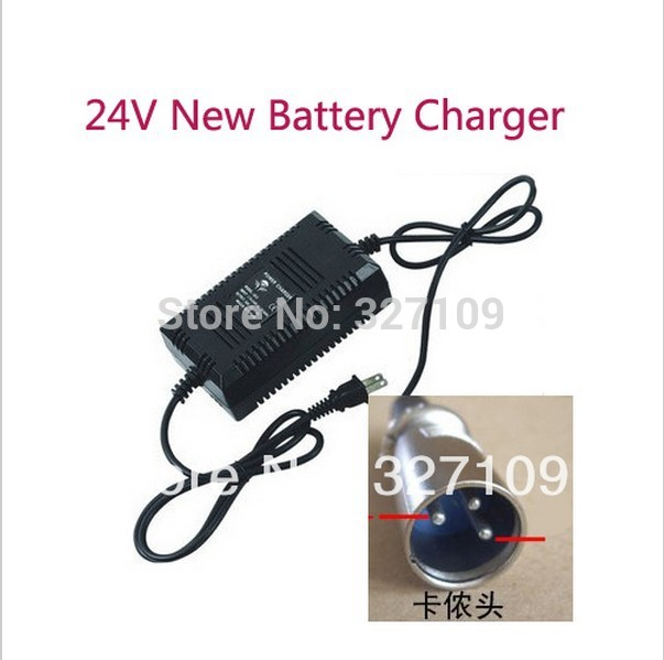 US $16 71 12% OFF 24V Electric Scooter Battery Charger For LASHOUT 400W  600W Shoprider mobility Scootie Scooter US PLUG-in Chargers from Consumer