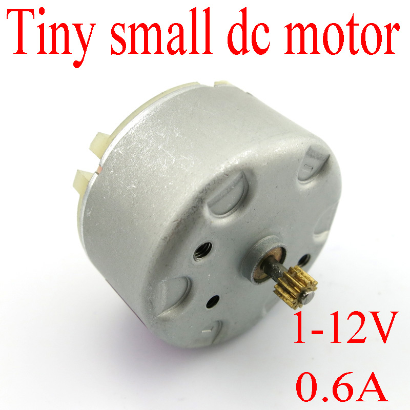 Solar motor tiny small dc motor model 500 carbon brush for Small dc electric motor