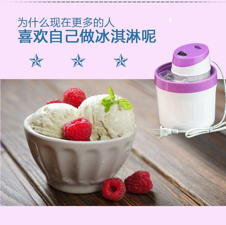 Household Small-sized Fully Automatic Self-control Fruits Ice Cream Machine Self-control Ice Cream Children Self-control Cone 11
