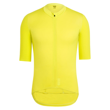 2018 Pro team Quick Dry Cycling Jersey Summer Short Sleeve mens MTB Bike Clothing yellow black bycicle maillot ciclismo