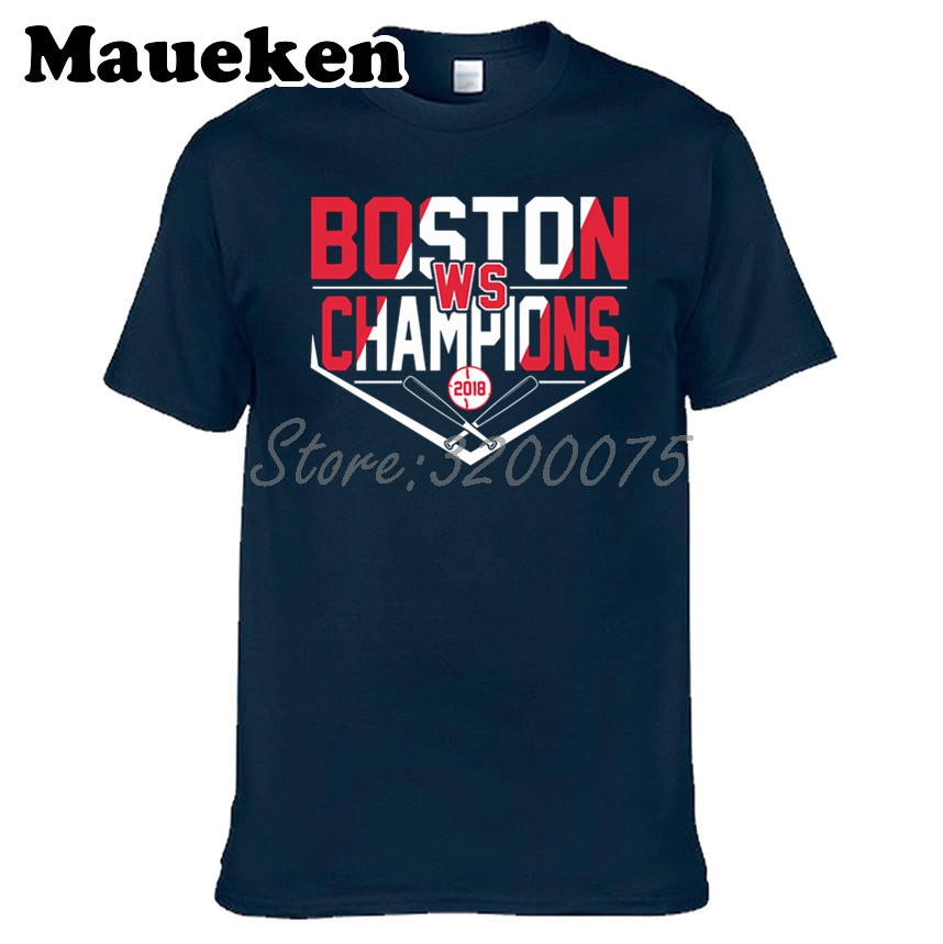 >Men 2018 Boston ALCS <font><b>World</b></font> American League T-shirt Clothes T Shirt Men's tshirt for Red Sox fans <font><b>Champions</b></font> <font><b>gift</b></font> tee W18052505