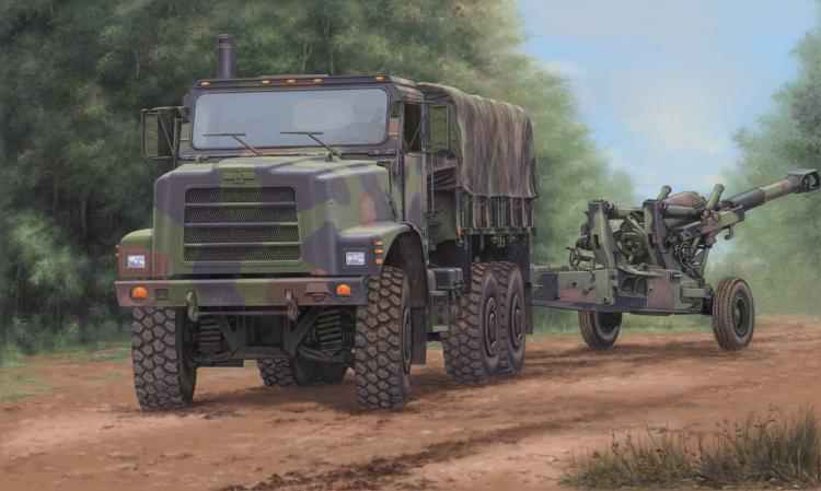 Trumpeter 01011 1/35 MK.23 MTVR Cargo truck plastic model kit trumpeter 01006 1 35 maz 537 last production