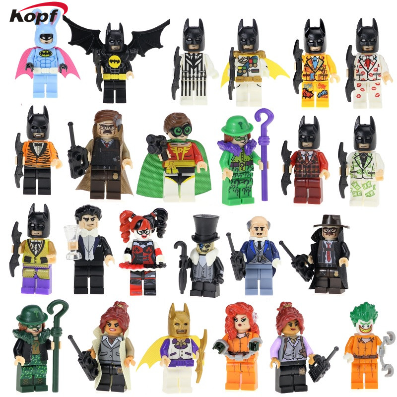 Latest Figures Super Heroes Star Wars Harley Quinn Joker Yoda Princess Leia Riddler Land ...