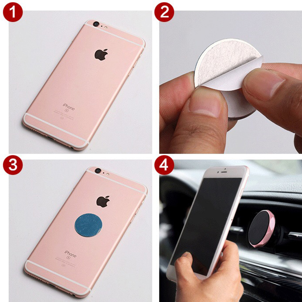 US $0 66 30% OFF|Magnetic Car Holder for Huawei Y9 2019 Car GPS Air Vent  Mount Magnet Stand Holder on Honor 8 9 10 Lite Holder for iPhone Xs Max-in