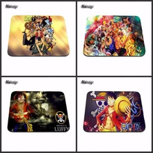 High quality Anti-Slip PC Cartoon Anime One Piece Silon Mouse Mat Pad Me Mat for Optal Pad Gaming Mouse Pads laptop Mouse Pad