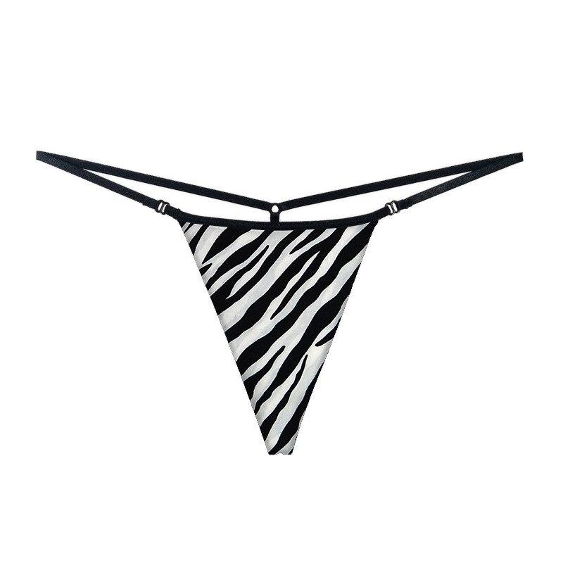 Women Sexy Lingerie Sexy   Panties   Cotton Underwear for Women Underpants Cheeky Bikini G-string Thongs Y-Back Leopard Zebra Print