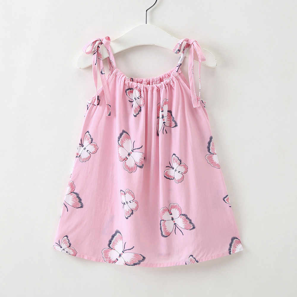 10bf25a6be56 ... MUQGEW 2018 Hot Sale Baby Cartoon Girls Toddler Strap Sundress Casual  Princess Outfit Clothes Dress Dropshipping ...
