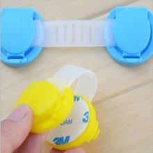 10pcs Child Safty Lock For Cabinets Children Kid Protection Sliding Window Door Cabinet Baby Angle Locks Drawers Plastic