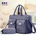Dots DIAPER BAG Multifunctional Baby Bags Fashion Stroller Nappy Organizer for Mom Maternity Bolsa Mummy Handbag Baby Care
