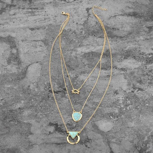 Купить chicvie каменное винтажное ожерелье с подвеской ювелирные изделия картинки