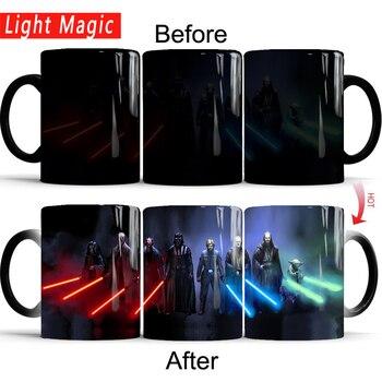star wars mugs coffee mug friend gifts novelty heat reveal cup heat changing color magic mug tea cups