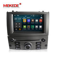 free shipping Android 7.1.1 1 Din 7 Inch Car DVD Player For Peugeot 407 2004 2010 RAM 2G ROM 16GB GPS Navigation Radio WIFI FM
