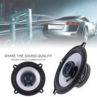 1 Pair New 5 Inch 2 Way 80W Coaxial Car Speaker Automobile Loudspeaker 4OHM Audio Stereo