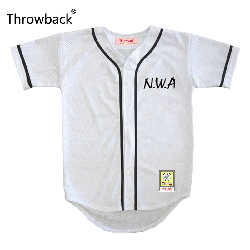 N.W.A. Ice Cube #91 White Throwback Movie Baseball Jersey S-5XL Stitched ...