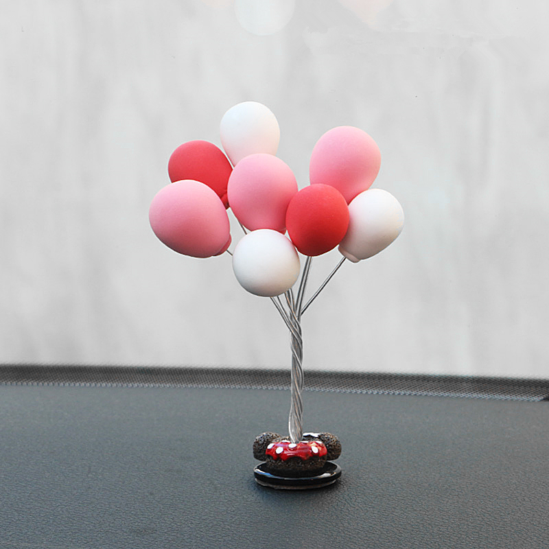 Creative Balloon Decoration Car Ornaments Auto Interior Accessories Decoration Birthday Gift Home Decor in Ornaments from Automobiles Motorcycles