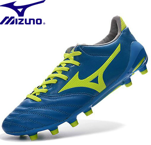 Mizuno NEO II TF Morelia Neo KL Mix Rugby Boots Adult Diva BLUE/Safety sneakers Men Shoes Weightlifting Shoes Size 39-45 lobos buap monarcas morelia