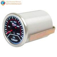 2 Pollice 52mm 40-150 Gradi Celsius Car Auto Motor Indicatore Temp Olio Calibro Oil Meter Temperatura Con Display a led